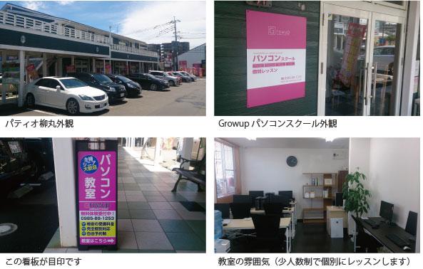 宮崎市フェニックスガーデン パティオ柳丸とパソコン教室写真